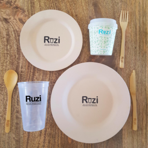Reusable cups, plates and cutlery for events Sydney Australia